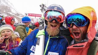 Kickin' it with Olympic Champ, ANDRÉ MYHRER in Val D'Isere ❄️  | VLOG 134