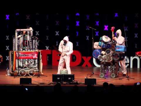 Music with trash | Trashbeatz | TEDxGhent