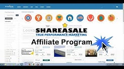 How to start with shareasale affiliate program