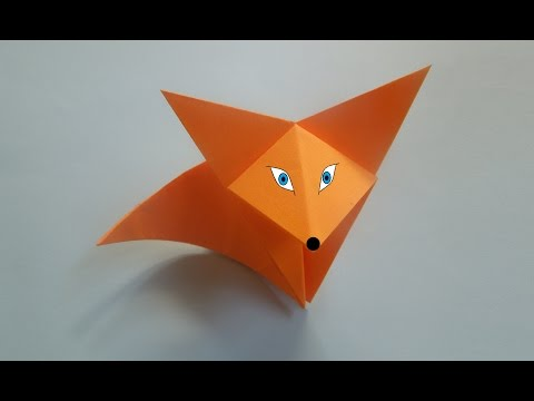 Origami - How to make an easy cat - YouTube   360x480