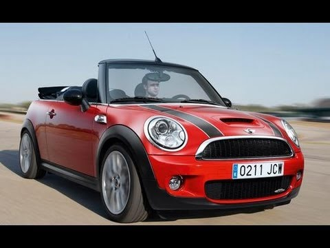 2010 mini cooper john cooper works convertible 2009 geneva auto show car and driver youtube. Black Bedroom Furniture Sets. Home Design Ideas