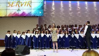 Michely Manuely - Rei dos Reis Feat. Coral da Vila Nova Cachoeirinha IASD