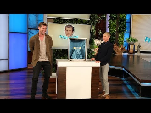 Chris Hemsworth Gets Intimate in 'Pitch Please'