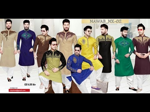 NEW LATEST KURTA DESIGN 2018-MAN KURTA DESIGN