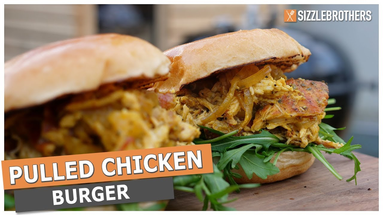 Pulled Pork På Weber Gasgrill : Pulled chicken pulled chicken burger vom weber kugelgrill youtube