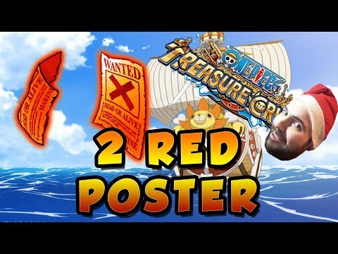 2 RED POSTER TM | One Piece Treasure Cruise (Global)