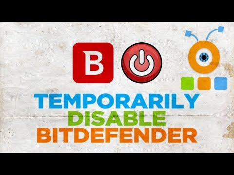 How to Temporarily Disable Bitdefender Internet Security 2019 - YouTube