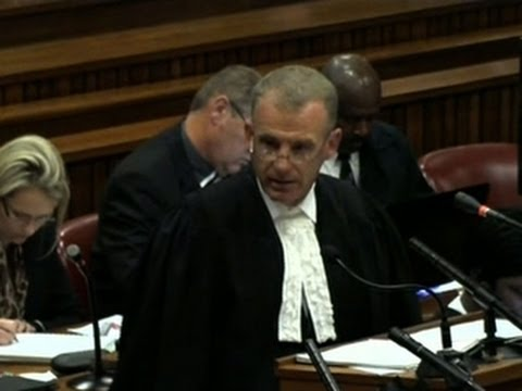 Oscar Pistorius interrogated by prosecutors about shooting