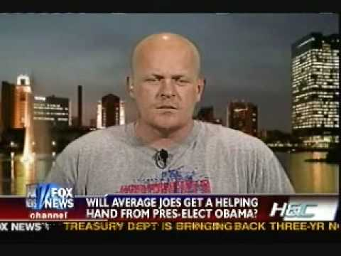 """Colmes Nails """"Joe The Plumber"""" For Being On Welfare"""