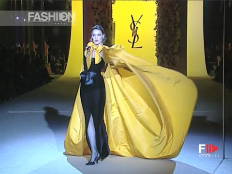 YVES SAINT LAURENT Full Show Spring Summer 2002 Haute Couture Paris by Fashion Channel