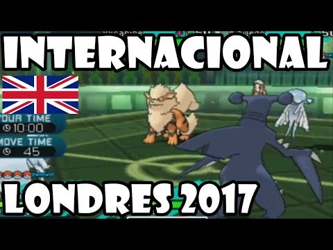 Torneo Europeo Internacional de Londres  Pokémon VGC 2017: TOP 4 Y FINALES