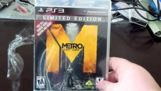 Metro Last Light Limited Edition Unboxing