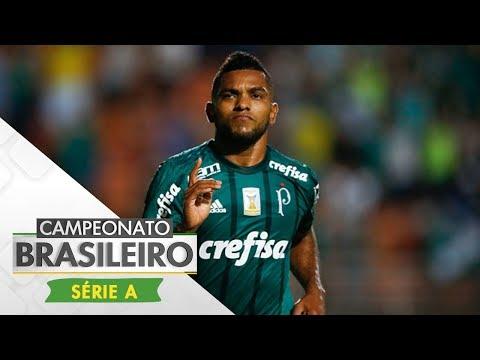 Melhores Momentos - Palmeiras 2 x 0 Ponte Preta - Campeonato Brasileiro (19/10/2017)