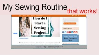 How Do I Start to Sew a New Dress, My Sewing Routine   Learn Sewing at Home