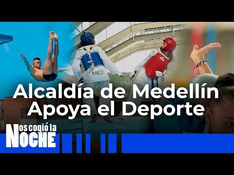 Alcaldía De Medellín Apoya El Deporte - Nos Cogió La Noche