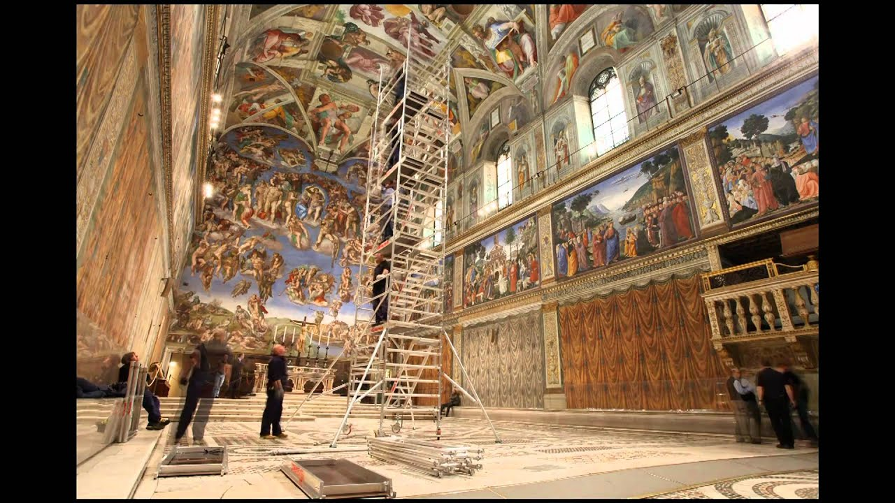 The real enemy of Michelangelo's Sistine art isn't us – it's the Vatican