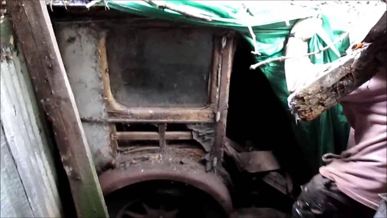 Barn find cars uk - YouTube