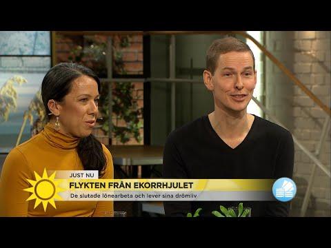 De lever sitt drmliv: Vi slutade jobba innan 40 - Nyhetsmorgon (TV4)