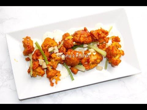 Buffalo Cauliflower Bites/Wings Inspired from CPK Video Recipe | Air Fryer Bhavna's Kitchen