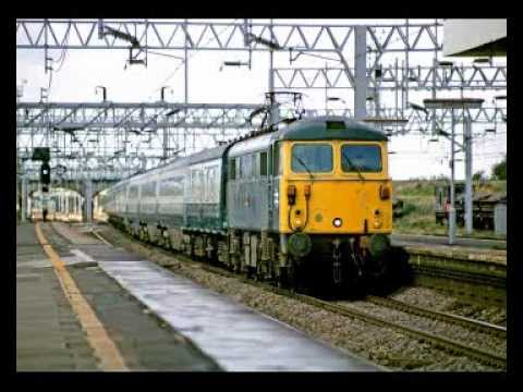 British Rail trains in the mid-1980s (audio)