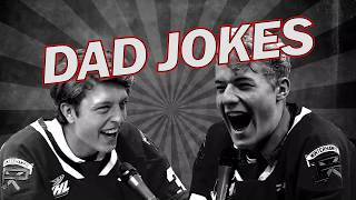 Winterhawks Dad Jokes | Knak vs Brondberg