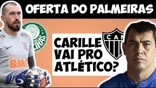 Palmeiras fez oferta a Walter, do Corinthians / Carille vai mesmo para o Atlético-MG?