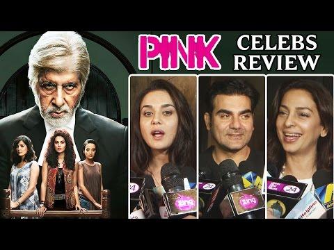 Pink Movie CELEBS Review | Arbaaz Khan | Kriti Sanon | Preity Zinta thumbnail