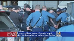 Revere Robbery Suspect Arrested In Boston Following Police Chase
