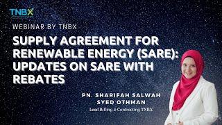 TNBX WEBINAR: UPDATES ON SARE with REBATES