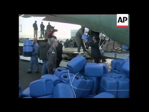 ISRAEL/ETHIOPIA: AID FOR FAMINE STRICKENED ETHIOPIA