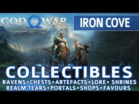 God of War - Iron Cove All Collectible Locations (Ravens, Chests, Artefacts, Shrines) - 100%