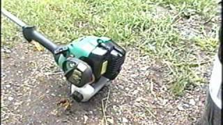 HOW TO ADJUST The Carburetor on Weedeater XT260 Grass Trimmer