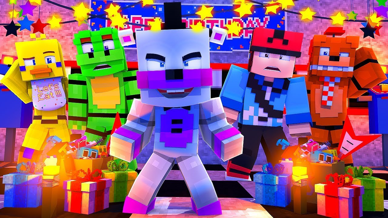 Minecraft FNAF 6 Pizzeria Simulator - HELPY BECOMES A HUMAN! (Minecraft  Roleplay)