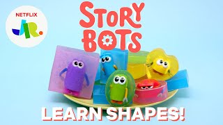StoryBots DIY Soap Shapes for Kids!  Netflix Jr