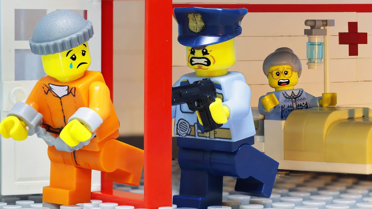 Lego Prison Break: The Last Day of Death Row Inmate (Lego Stop Motion)
