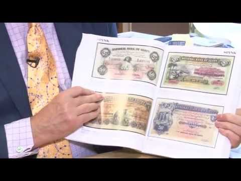 Spink World Bank Note Auction Sale Results October 2, 2014. VIDEO: 3:44.