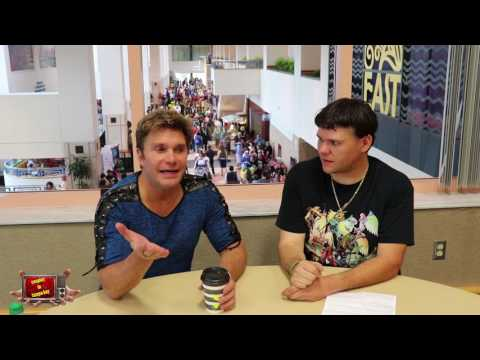 Metrocon 2017 interview with Vic Mignogna