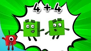 Numberblocks - Combo Breaker! | Learn to Count | Learning Blocks