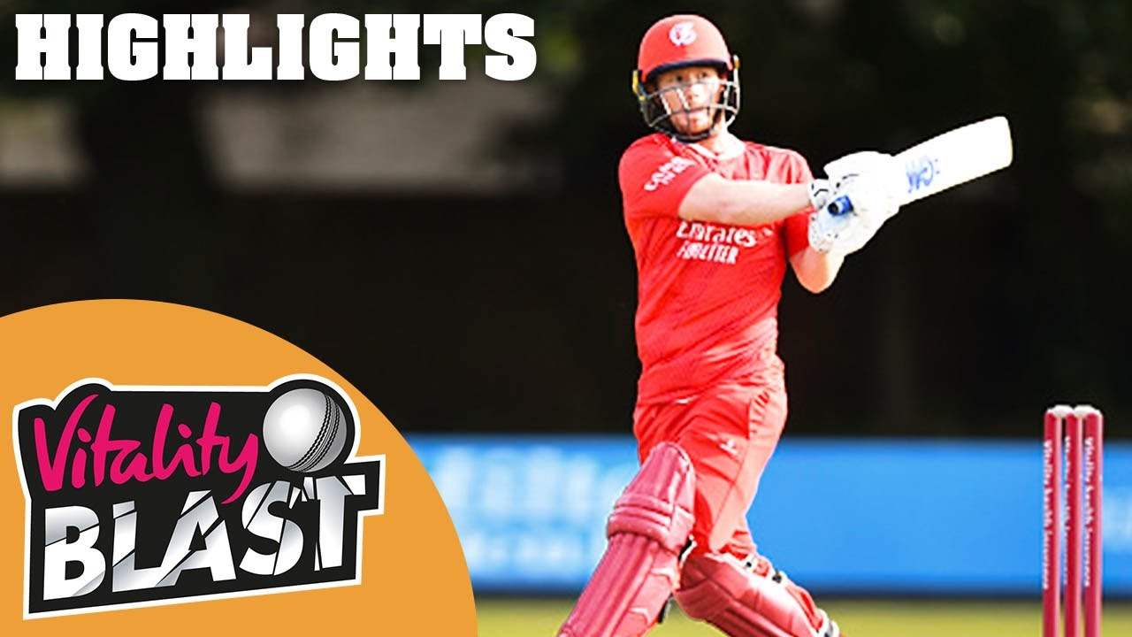 Yorkshire v Lancashire | Stellar Jones Performance Seals Victory! | Vitality Blast 2020 – Highlights