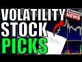 FUTURES SPIKE ON TRADE NEWS – My Watchlist For Tomorrow – Volatility Trades & Stocks To Buy NOW