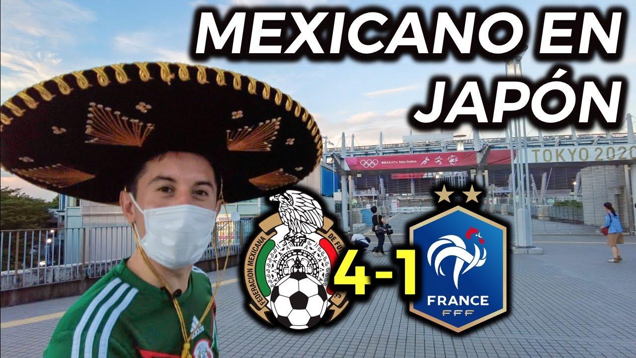 FUI AL PARTIDO MEXICO 4-1 FRANCIA TOKYO 2020 EN JAPÓN