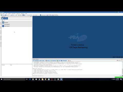 PBA.pro 2.73 AFDX VL-Activity UI Test_01_AD