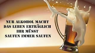 Nur Alkohol macht das Leben erträglich, The Simpsons-Lyrics-Text | Robin Michels