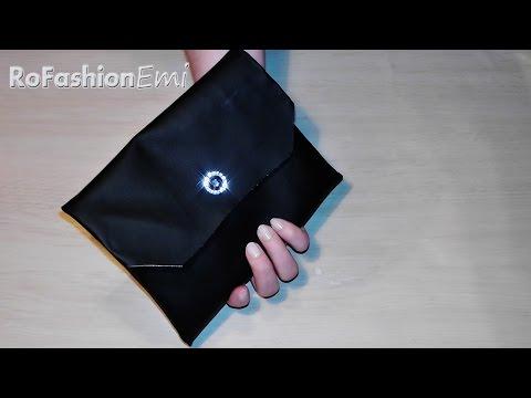 Tutorial Ro Fashion - Cum sa faci o poseta plic DIY