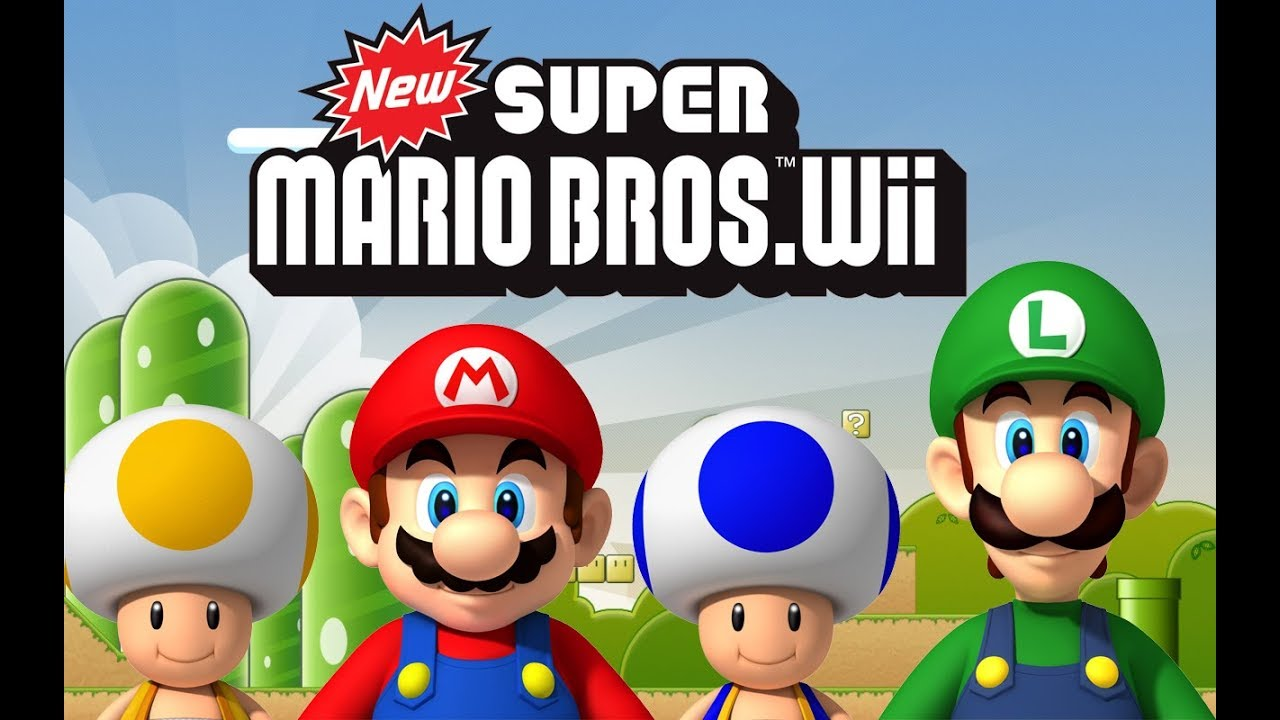new mario bros wii how to in pc