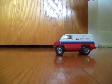 toy truck Canada post