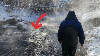 Жуткая Рыбалка на Поисковый Магнит в Минус 30 такого вы ещё не видели