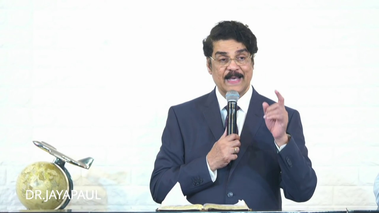 LIVE- Hindi Service   The Calvary Church, Chennai   24 Feb 2019   Dr Jayapaul