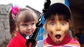 Прикол 2017 Ремонт Авто Мега Запуск Элина Пытается Починить Машину Детское Видео