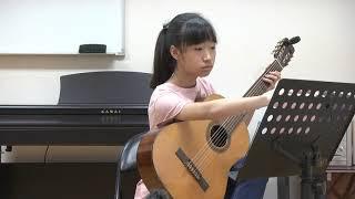 19  2019 2 24 高雄吉他室內樂團古典吉他評鑑二級  林侑璿